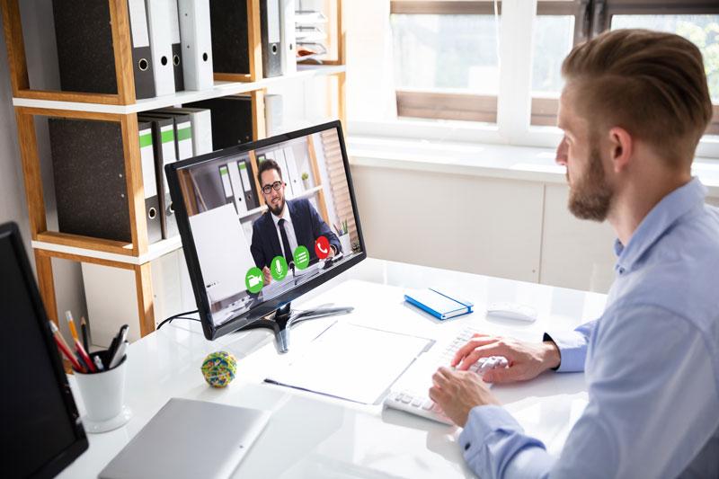 Cómo dar una imagen profesional en las vídeollamadas de trabajo